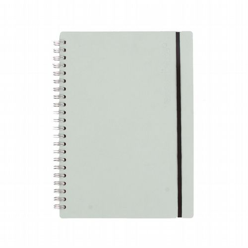 Recycled Leather - Ruled Notebook - Mint